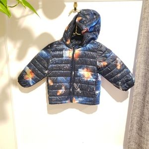Gap Light Hooded Jacket Milky Way Space